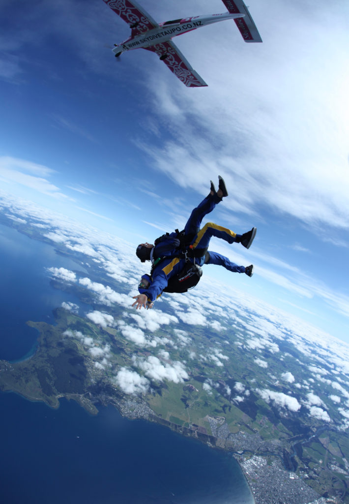 Taupo: the best tandem skydive in NZ? | New Zealand Guide